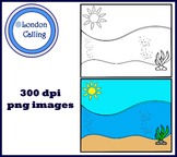 Clipart - SEA BACKGROUND
