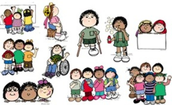 Clip Art ALL KIDS ARE SPECIAL
