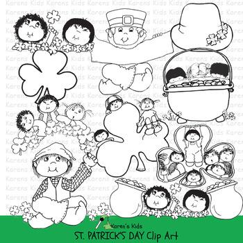 Clip Art ST. PATRICK'S DAY (Karen's Kids Clip Art)