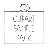 Clipart Sample Pack from Bunny On A Cloud