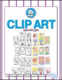 Clip Art Sampler: Choose from Grownups, Kids, Grandparents