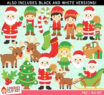 Santa Claus Christmas Clipart