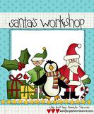 Clip Art: Santa's Workshop
