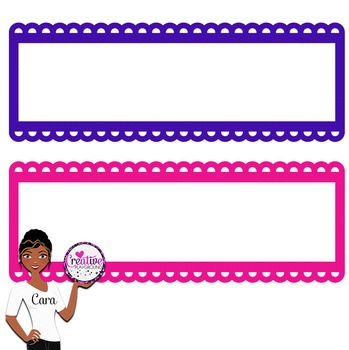 Clip Art~ Scalloped Headers