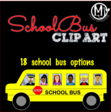 Clip Art - School Buses