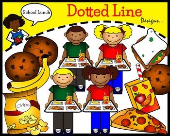 Lunch Clip Art: School Lunch
