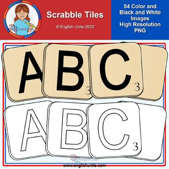 Clip Art - Scrabble Tiles