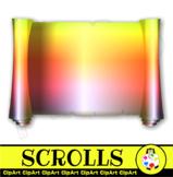 Clip Art Scroll Borders