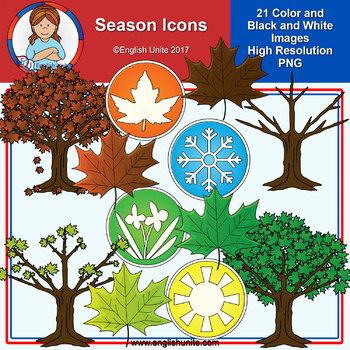 Clip Art - Season Icons