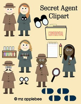 Clip Art: Secret Agent