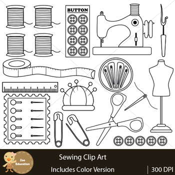 Clip Art : Sewing