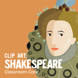 Clip Art: Shakespeare, Renaissance Era, Queen Elizabeth, G