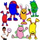 Clip Art~ Silly Jellybeans!