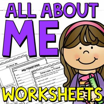 Back to School Activities: All about Me