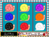 Clip Art Snails by ClipArt ChuckleBerry