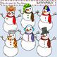 Clip Art Snowmen