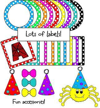 Clip Art - Spider Classroom Kit