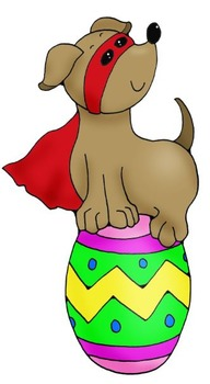 Clip Art: Spring into Spring Doggies: Easter, St.Patrick's by HeathersArtwork