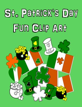 35 clip art png's for ONLY .99 CENTS!! Clip Art St. Patrick's Day Clip Art