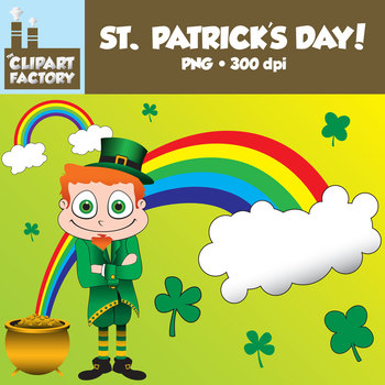 Clip Art: St. Patrick's Day Fun - Holiday, St. Patrick's Day