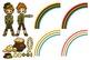 Clip Art: St. Patrick's Day Irish Leprechauns 29