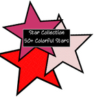 Clip Art--> Star Collection 50+