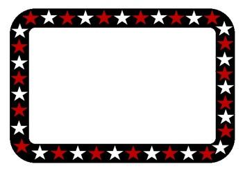 Clip Art Star Frame Graphics