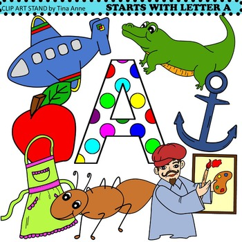Clip Art Starts With Letter A