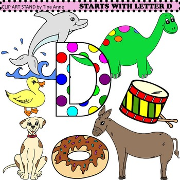 Clip Art Starts With Letter D