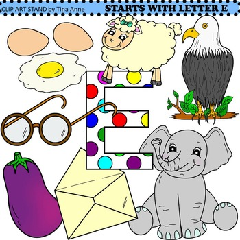 Clip Art Starts With Letter E