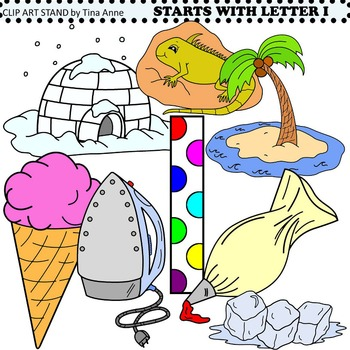 Clip Art Starts With Letter I