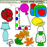 Clip Art Starts With Letter L