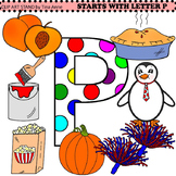 Clip Art Starts With Letter P