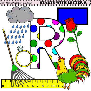 Clip Art Starts With Letter R