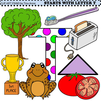 Clip Art Starts With Letter T