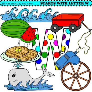 Clip Art Starts With Letter W