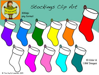 Clip Art: Stockings (free)