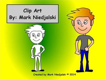 Clip Art: Kid/Student