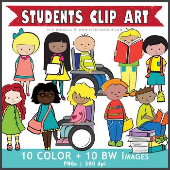 Clip Art: Students