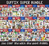 Clip Art - Suffix Super Bundle