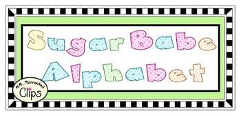 Clip Art - Sugar Babe Alphabet