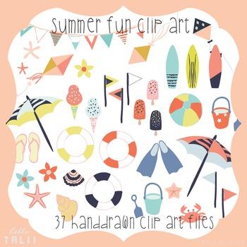 Clip Art: Summer Fun