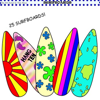 Clip Art Surfboards