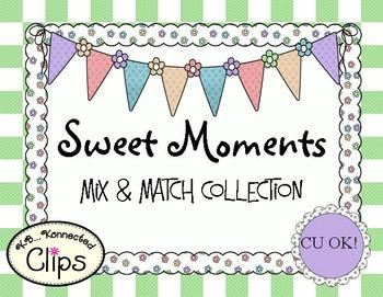Clip Art - Sweet Moments Mix and Match Collection