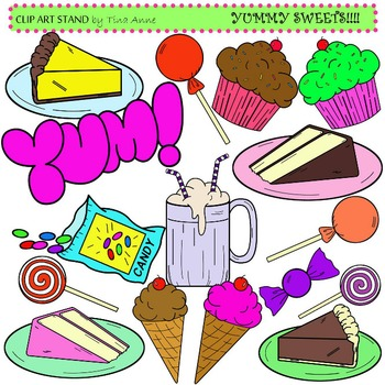 Clip Art Sweets
