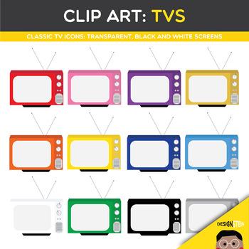 Clip Art: TVs