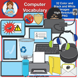 Clip Art - Teacher Appreciation Gift 3 - Computer Vocabulary