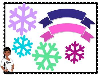 Clip Art~ Teacher Design Bundle: Winter Jubilee