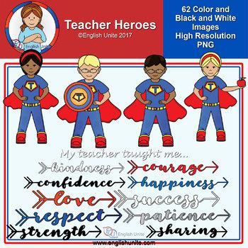 Clip Art - Teacher Hero