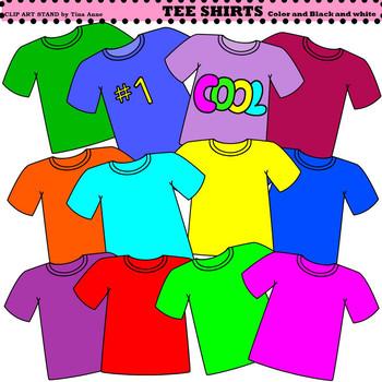 clip art t shirts by clip art stand by tina anne tpt rh teacherspayteachers com shirt clip art free shirts clipart black and white